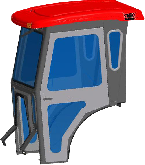 Mahindra Cab and Enclosure - 2815, 3215, 3215 HST, 3316, 3316 HST